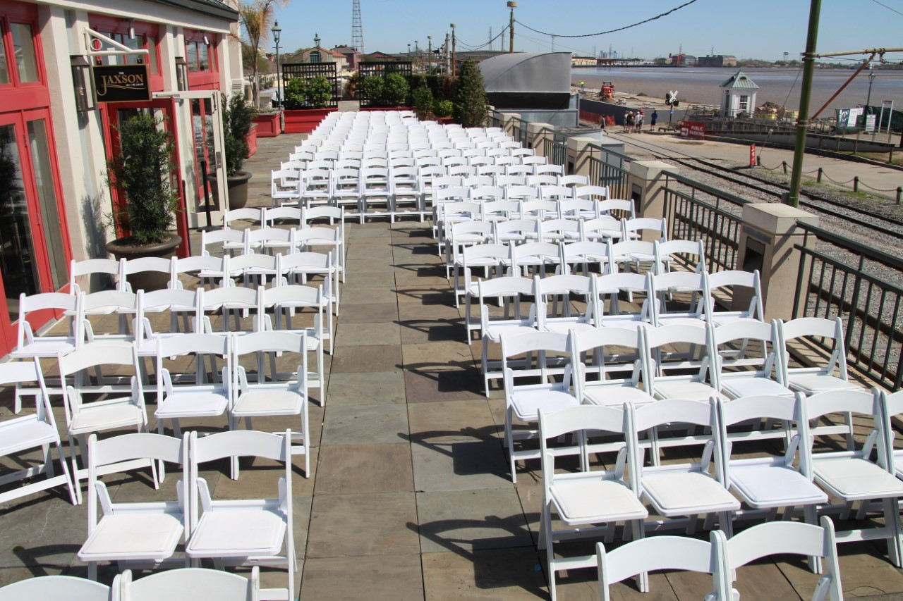The Jaxson Chairs with a Short Aisle