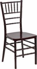 Rental store for CHAIR, CHIAVARI MAHOGANY in New Orleans LA