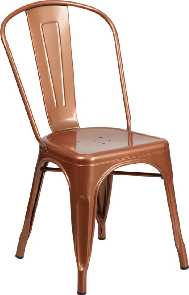Chair Bistro Metal Copper Rental New Orleans La Rent Chair Bistro Metal Copper In Metairie
