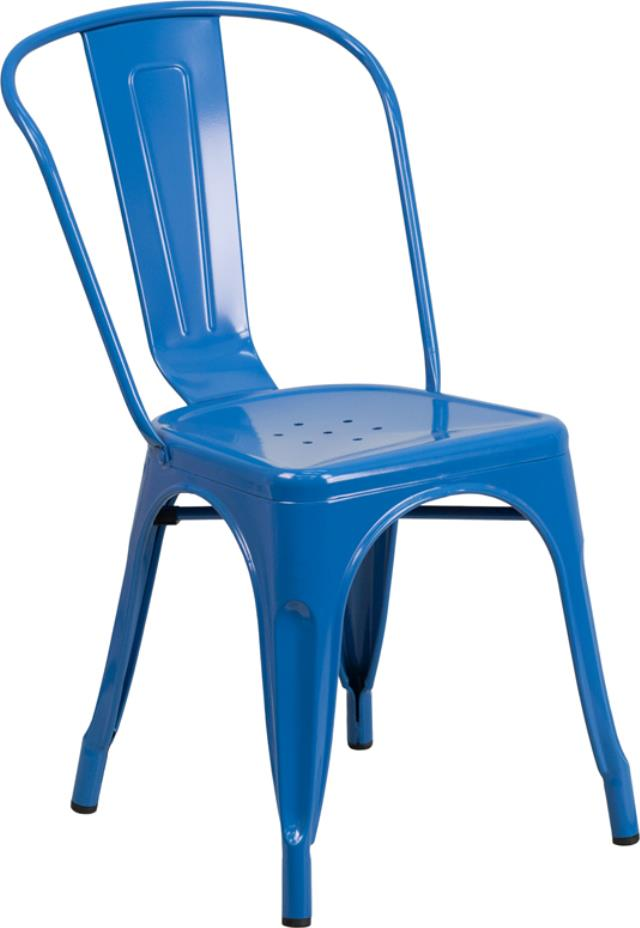 Where to find CHAIR, BISTRO METAL BLUE in New Orleans