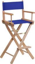 Rental store for CHAIR, DIRECTOR  BLUE  NATURAL in New Orleans LA