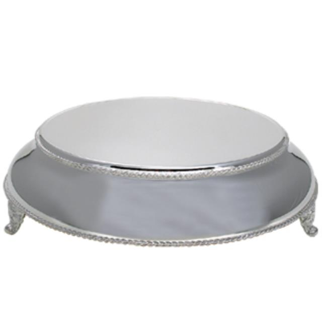 Where to find CAKE PLATEAU 18  SOLID SILVER ROUND in New Orleans