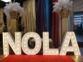 Rental store for NOLA SIGN, 36  MARQUEE STYLE in New Orleans LA