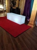 Rental store for BENCH,  LED 16 x48 , MOLDED PLASTIC in New Orleans LA