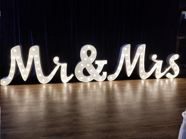 MRS SIGN 36 INCH MARQUEE STYLE Rentals New Orleans LA, Where