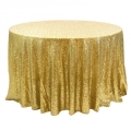 Rental store for GOLD SEQUIN LINEN in New Orleans LA