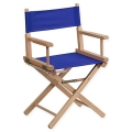 Rental store for CHAIR, DIRECTOR  BLUE, STD. HEIGHT in New Orleans LA