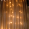 Rental store for CURTAIN, ORGANZA WARM LED 10X20 in New Orleans LA