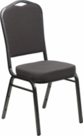 Rental store for CHAIR, BANQUET, GRAY FABRIC, STACKING in New Orleans LA