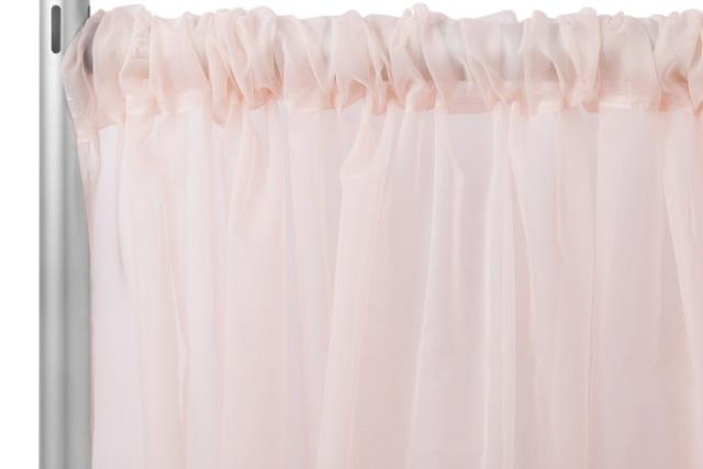 Where to find DRAPE, BLUSH SHEER, 12  X 10 in New Orleans