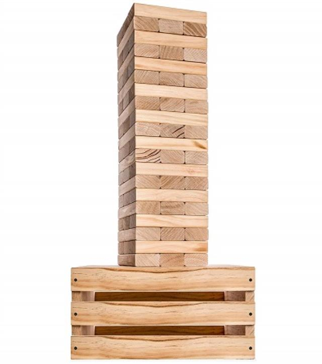 Where to find STACKING BLOCKS GAME,  GIANT JENGA in New Orleans