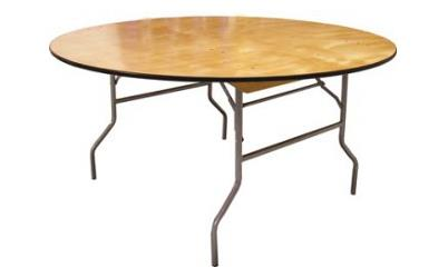 Rent Table, Round